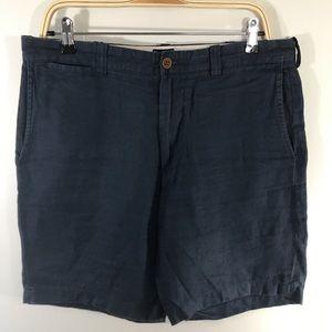J Crew Stanton linen shorts